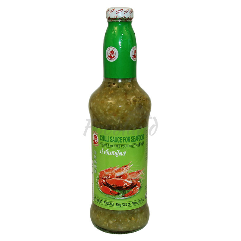 Sweet Chilli Sauce For Seafood Cock Brand 800 G Foodland