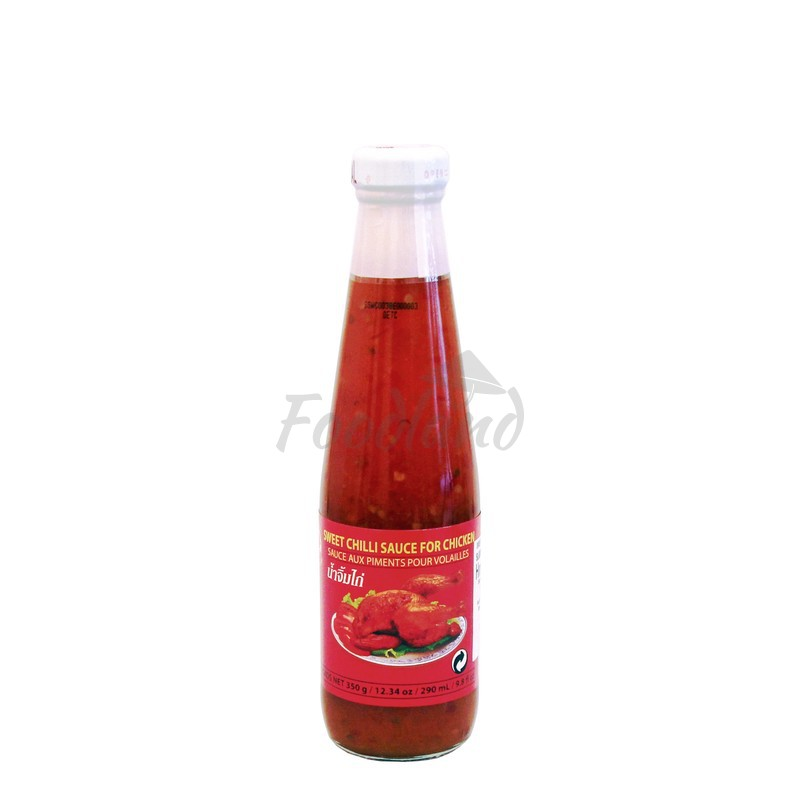 Sweet Chilli Sauce For Chicken Cock Brand 350 G 290 Ml Foodland