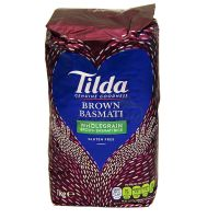 Basmati wholegrain brown rice - TILDA - 1 kg