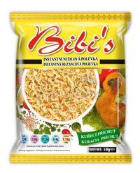 Instant noodle soup chicken flavor - Bibi's - 50 g