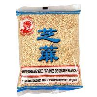 White sesame seeds COCK BRAND 227 g