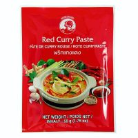 Red curry paste - COCK BRAND - 50 g