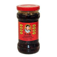 Black beans in chilli oil LAO GAN MA 280 g