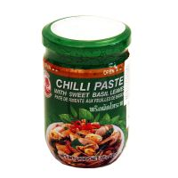 Chili paste with Thai basil leaves COCK BRAND 200g