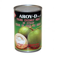Young coconut meat in syrup AROY-D 425 g