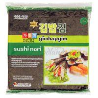 Dried seaweed SUSHI NORI GIMBAPGIM 50 sheets