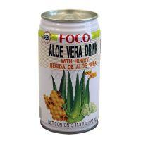 Aloevera drink with honey FOCO 350ml