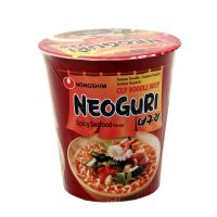 NEOGURI RAMYUN instant  cup seafood & spicy soup NONGSHIM  62 g