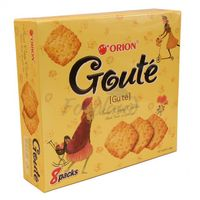 Sweet crispy crackers ORION GOUTÉ ORION 288g