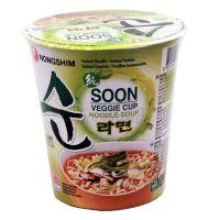 SOON VEGGIE RAMYUN  vegetarian cup instant noodles soup NONGSHIM 62 g