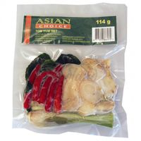 TOM YUM SET-Package frozen spices for TOM YUM Soup 114g
