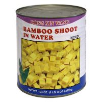 Bamboo shoots in water - DIced 2950g