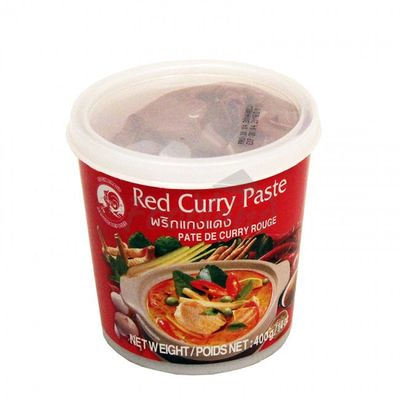 Red curry paste - COCK BRAND 400 g | Foodland