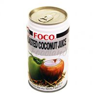 Roasted coconut juice FOCO 350ml