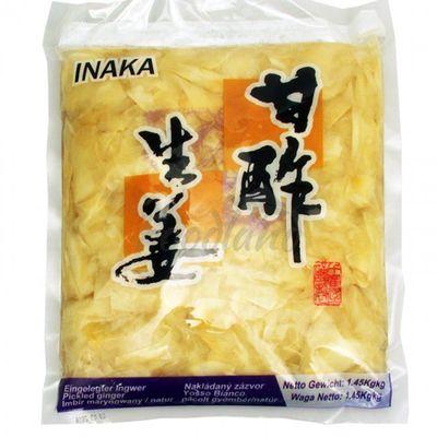 Pickled ginger for sushi-Natural INAKA 1.45 kg