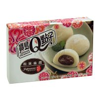 Japanese Mochi cake with red bean Q Brand  210g