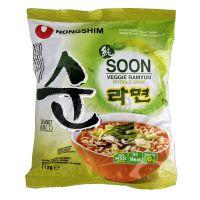 SOON VEGGIE RAMYUN vegetarian instant noodles NONGSHIM112 g