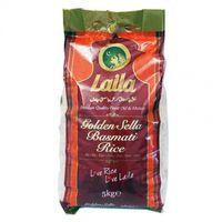 Basmati rice - LAILA GOLDEN SELLA- 5 kg