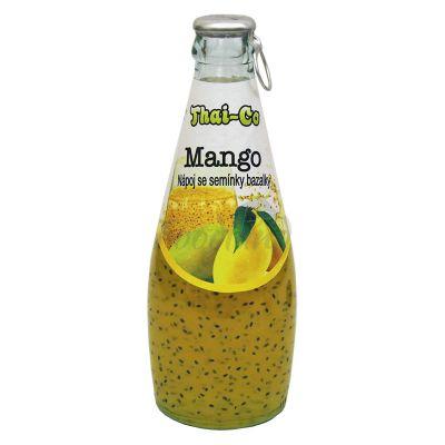 Basil seeds drink mango flavour THAI-CO 290ml