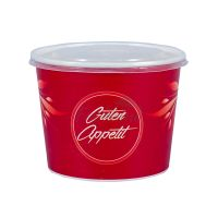 Paper box for soup- red  -14803 -32
