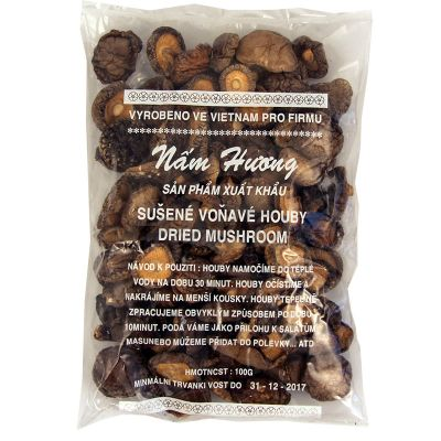 Dried shitake mushrooms NAM HUONG 100 g
