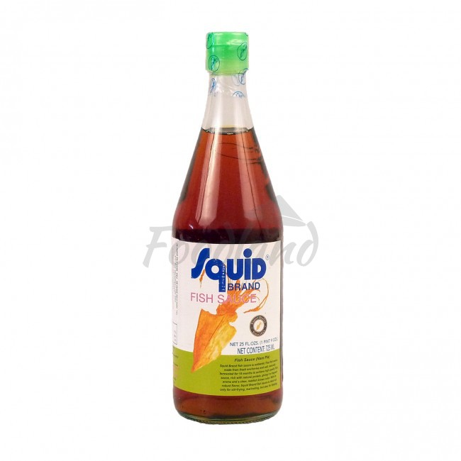 Fish sauce squid brand 725 ml foodland for Fish sauce brands