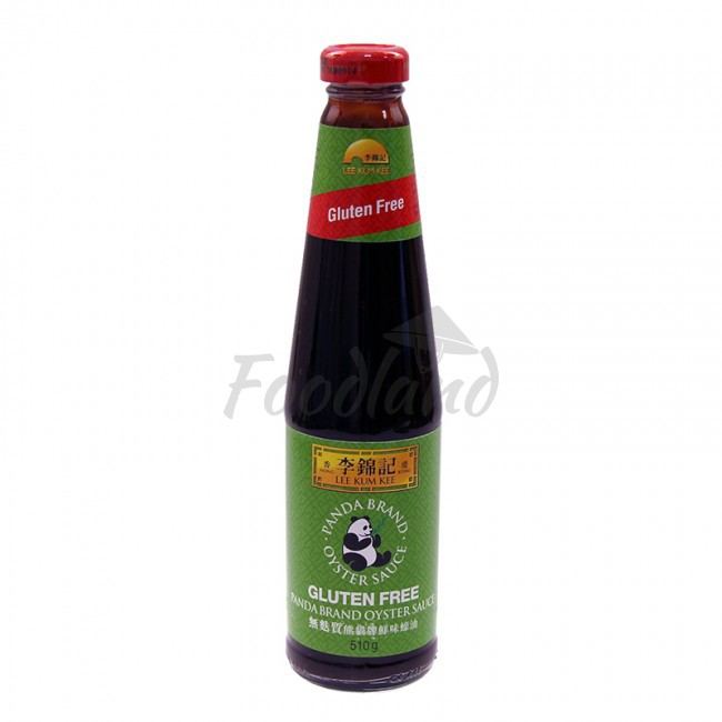 Gluten free oyster sauce lee kum kee panda 510 ml foodland for Is fish sauce gluten free